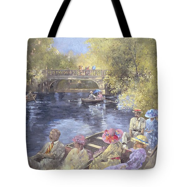 Botanic Gardens - Southport Tote Bag by Peter Miller