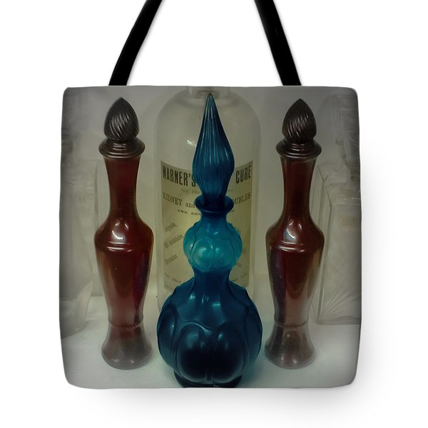 Bottled Up Tote Bag by DigiArt Diaries by Vicky B Fuller