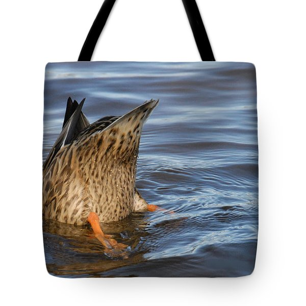 Bottom's Up Tote Bag by Cindy Manero