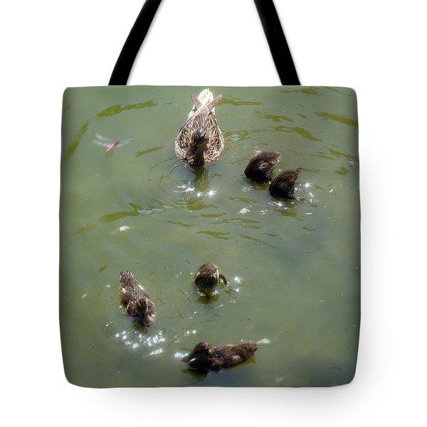 Bottom's Up Tote Bag by David G Paul