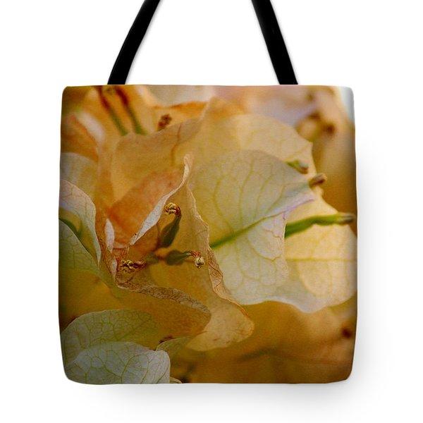 Bougainvillea Memory Tote Bag