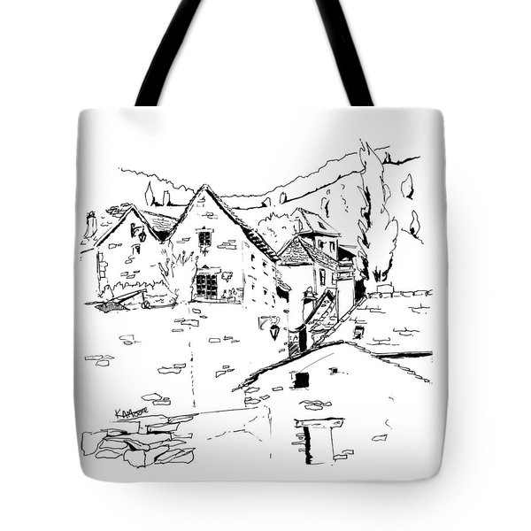 Bouges In France 01 Tote Bag