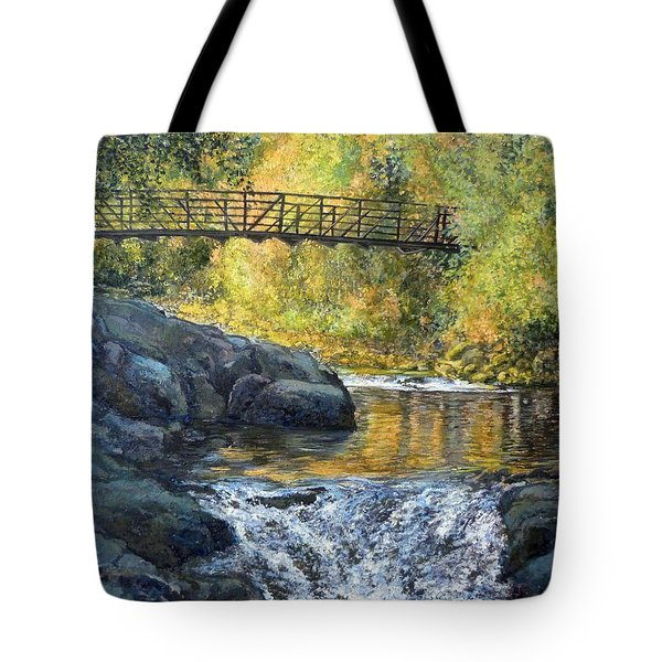 Boulder Creek Tote Bag