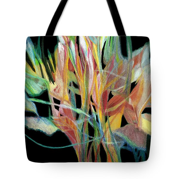 Bouquet Tote Bag by Ann Powell