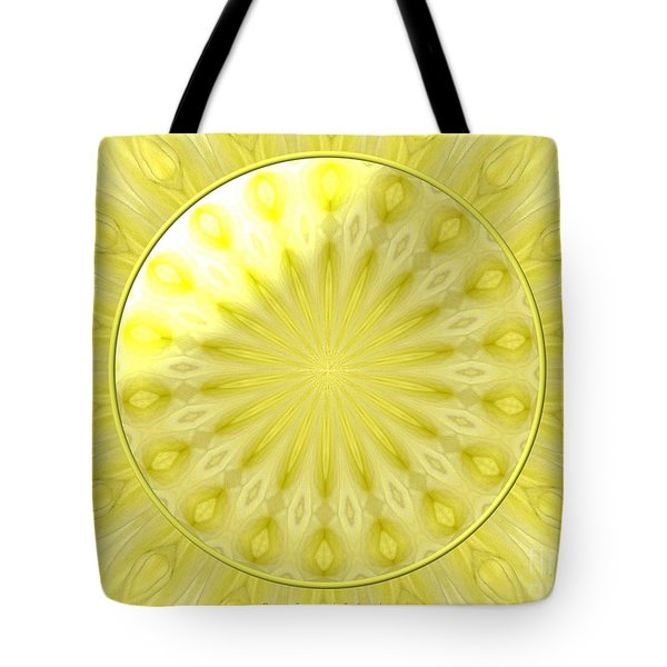 Bouquet Of Roses Kaleidoscope 7 Tote Bag by Rose Santuci-Sofranko