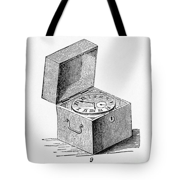 Box Chronometer Tote Bag by Science Source