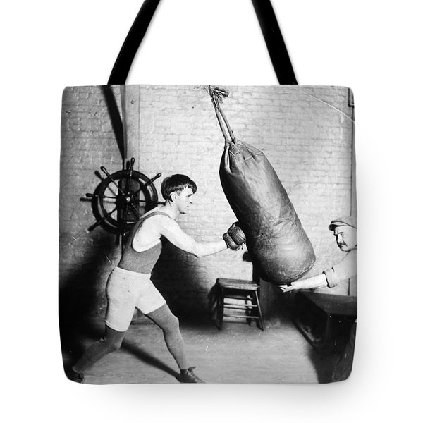 Boxing: Bat Nelson, 1920 Tote Bag by Granger