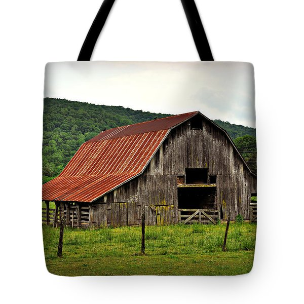 Boxley Barn Tote Bag by Marty Koch