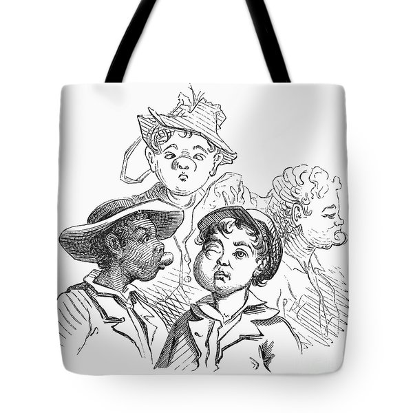 Boys With Bee Stings Tote Bag by Granger