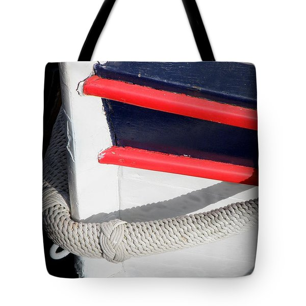 Braided Bumper Tote Bag by Lainie Wrightson