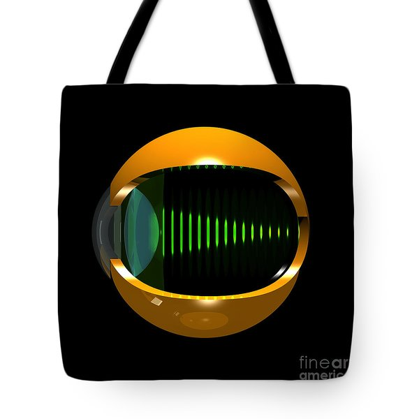 Brass Eye Infinity Tote Bag