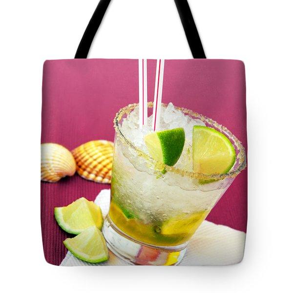 Brazilian Cocktail Tote Bag by Carlos Caetano