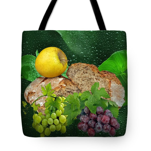 Bread Tote Bag by Manfred Lutzius