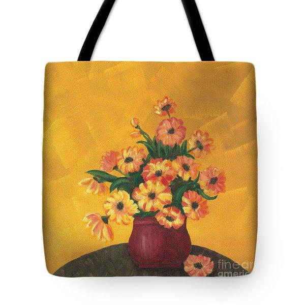Breakfast Bouquet Tote Bag