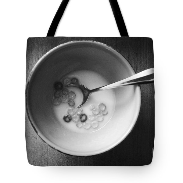 Breakfast Tote Bag by Linda Woods