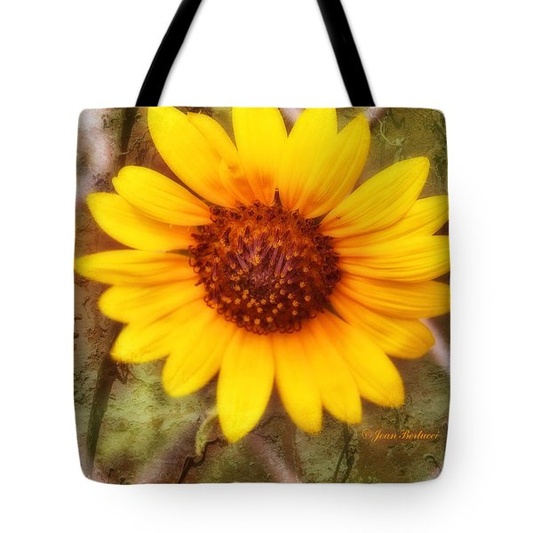 Tote Bag featuring the photograph Breaking Out by Joan Bertucci
