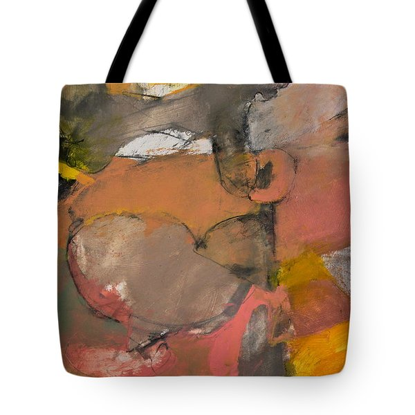 Tote Bag featuring the painting Breastbone by Cliff Spohn
