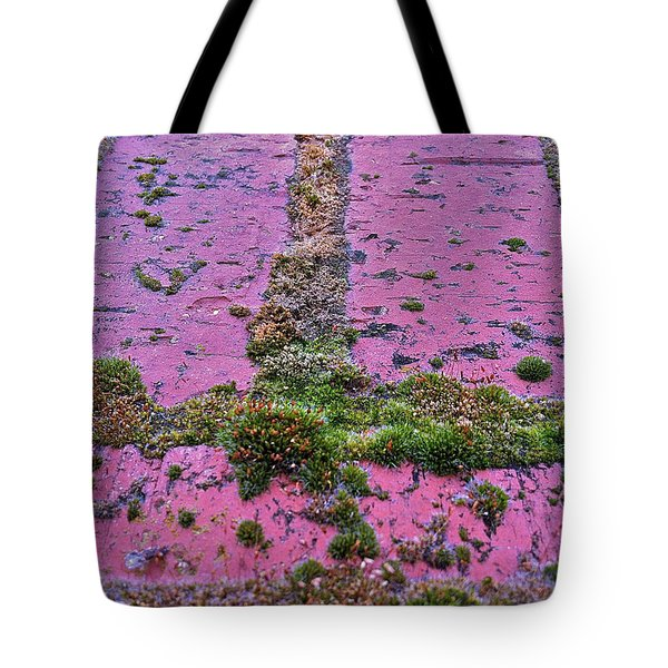 Tote Bag featuring the photograph Brick Wall by Bill Owen