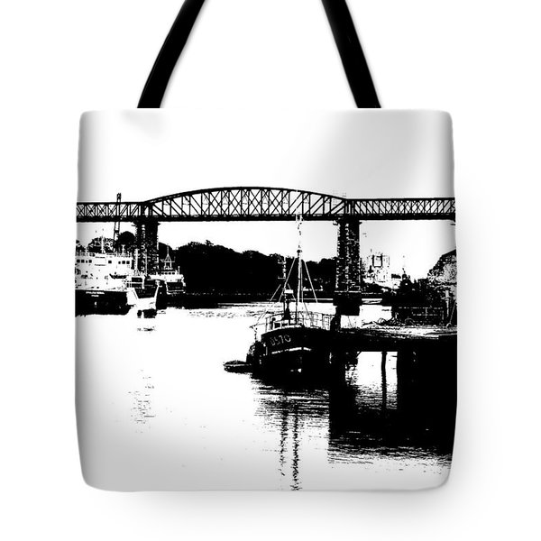 Tote Bag featuring the photograph Bridge On The Boyne by Charlie and Norma Brock