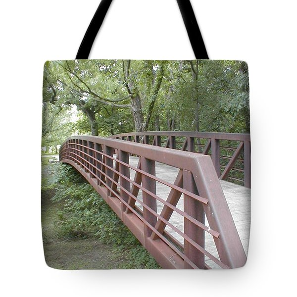 Bridge To Beyond Tote Bag by Vonda Lawson-Rosa