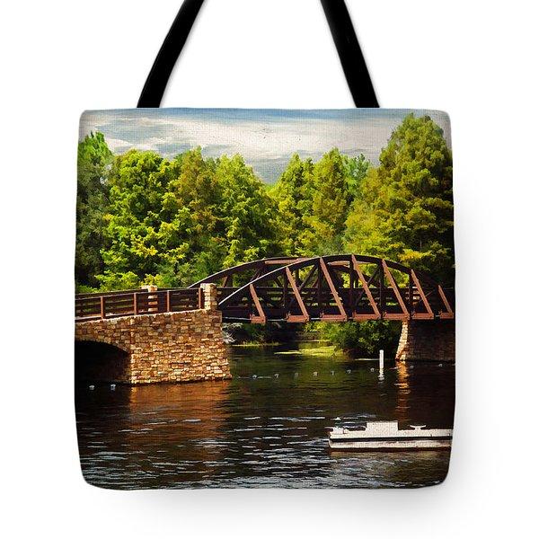 Bridge To Get Away Tote Bag