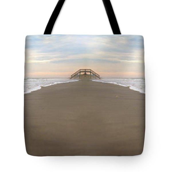 Bridge To Parallel Universes  Tote Bag by Betsy Knapp