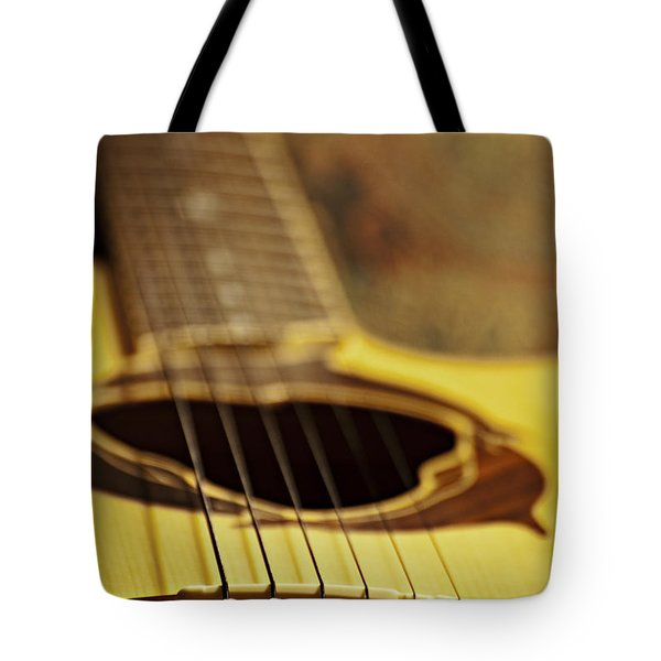 Bridging The Gap Tote Bag by Christopher Gaston