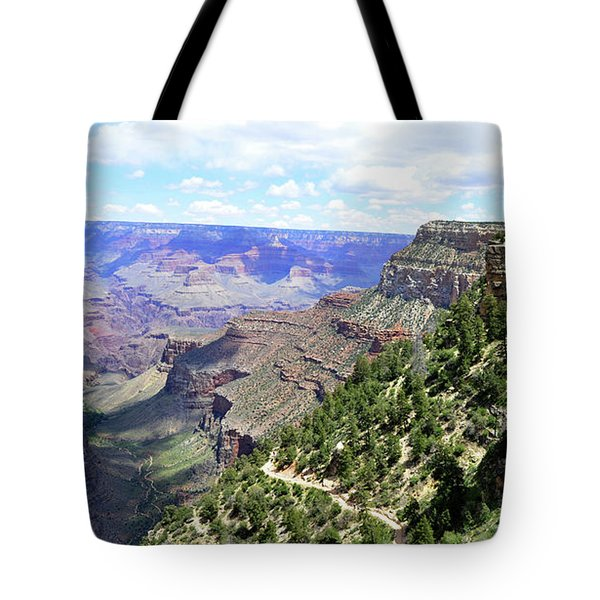 Tote Bag featuring the photograph Bright Angel Trail by Paul Mashburn