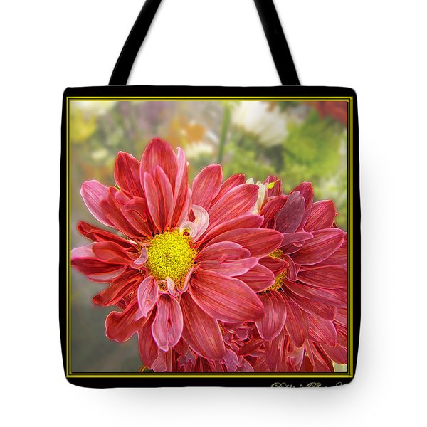 Tote Bag featuring the digital art Bright Edges by Debbie Portwood