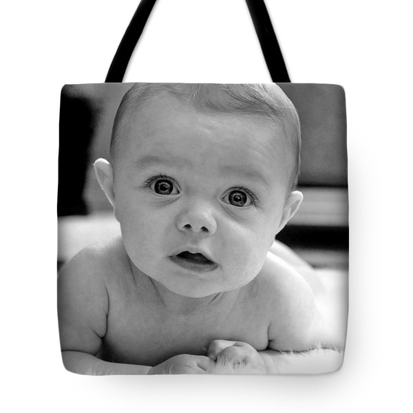 Bright Eyes Tote Bag by Lisa Phillips