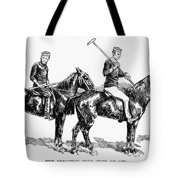 Brighton Polo Club, 1877 Tote Bag by Granger