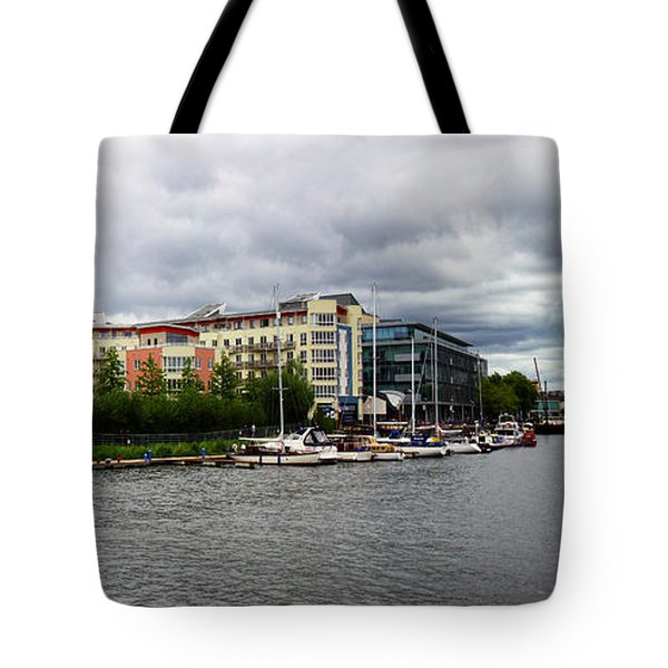 Bristol Panoramic Photograph Tote Bag