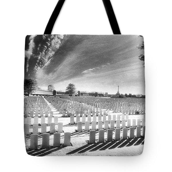 British Cemetery Tote Bag by Simon Marsden