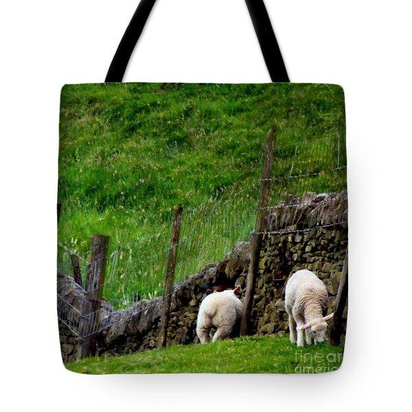 British Lamb Tote Bag by Isabella F Abbie Shores