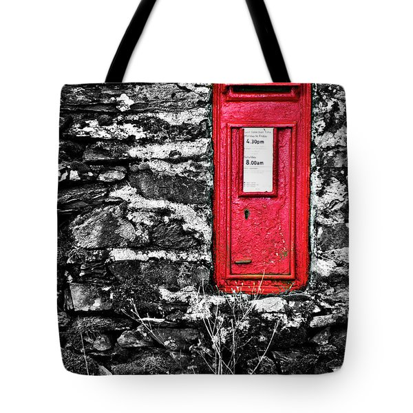 British Red Post Box Tote Bag