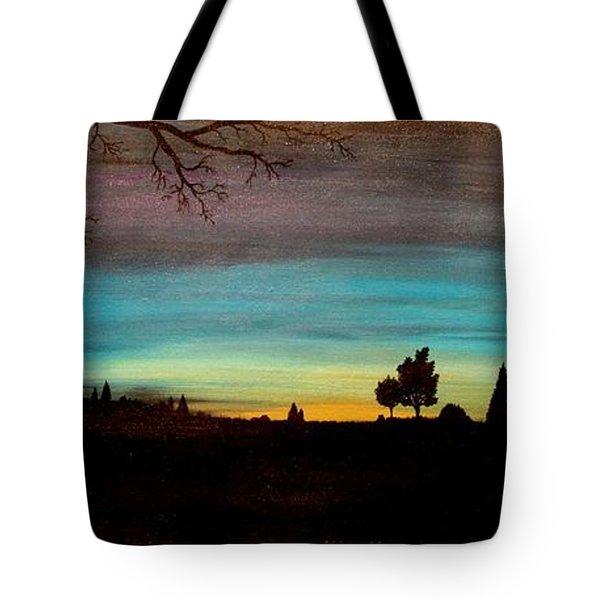 Brock's Cabin Tote Bag