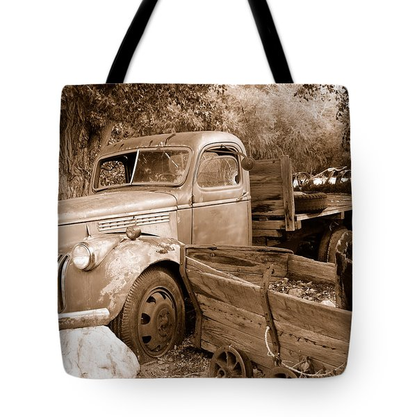 Broken  Tote Bag by Holly Blunkall