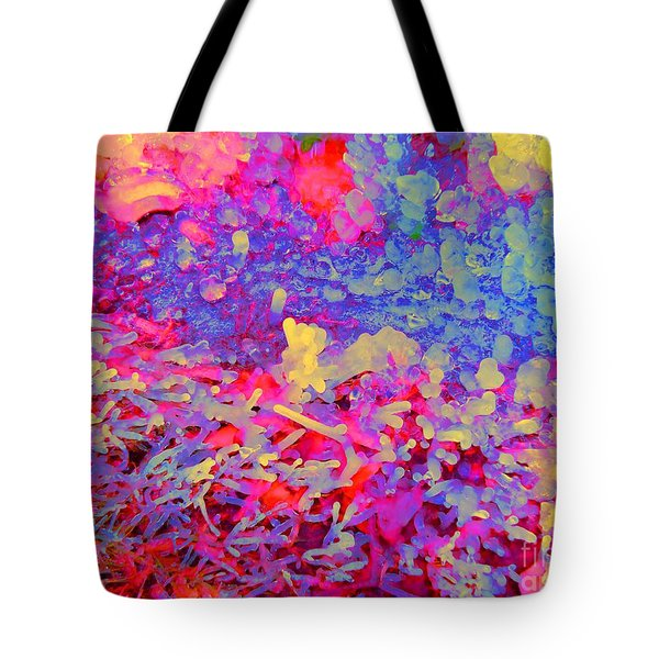 Broken Sprinkler Ice Sculpture Tote Bag