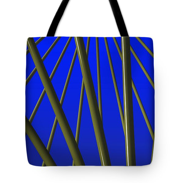 Bronze Sunlight Tote Bag by Richard Rizzo