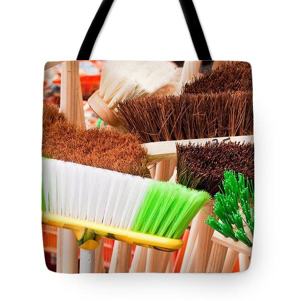 Brooms Tote Bag by Tom Gowanlock