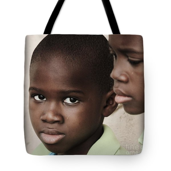 Brothers Tote Bag by Rene Triay Photography