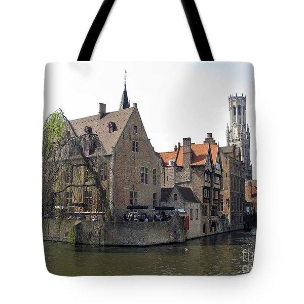 Brugge. Belgium. Spring 2011 Tote Bag by Ausra Huntington nee Paulauskaite