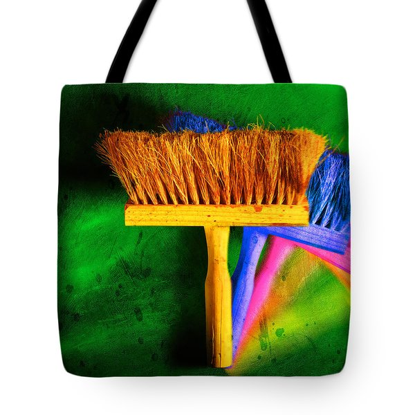 Brush Tote Bag by Mauro Celotti