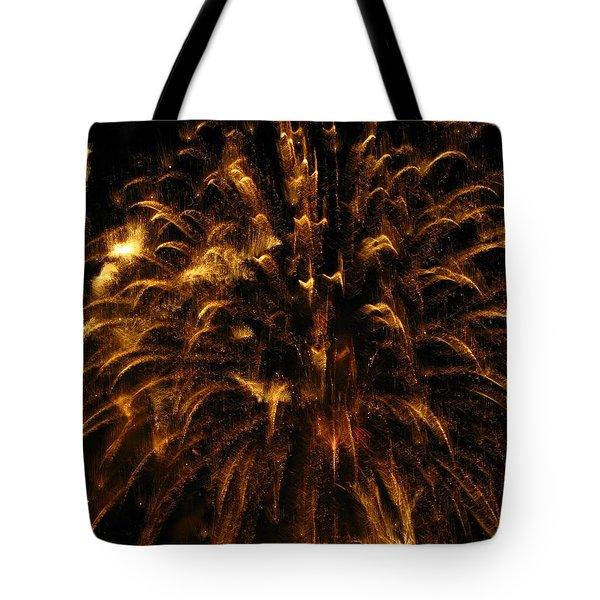 Brushed Gold Tote Bag by Rhonda Barrett
