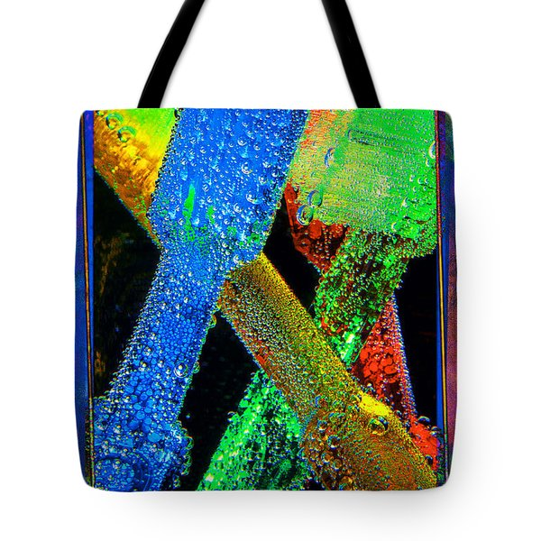 Brushes Tote Bag by Mauro Celotti