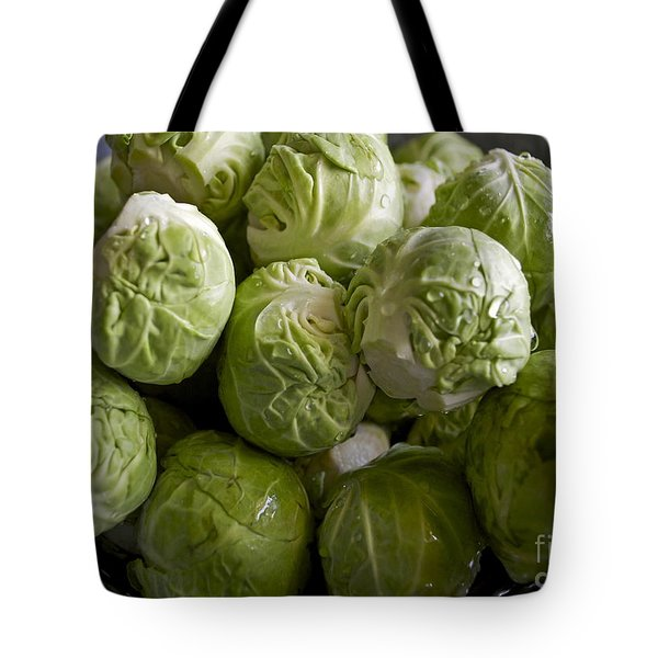 Brussel Sprouts Tote Bag by Gwyn Newcombe