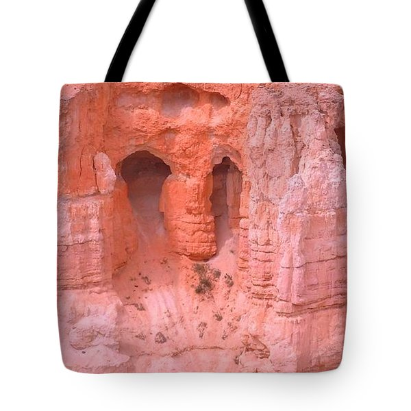 Tote Bag featuring the photograph Bryce Canyon Grottos by Ann Johndro-Collins