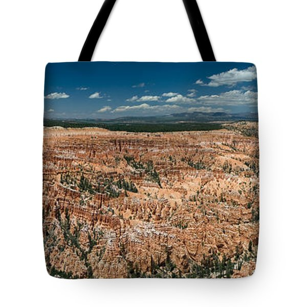 Bryce Canyon Panaramic Tote Bag by Larry Carr