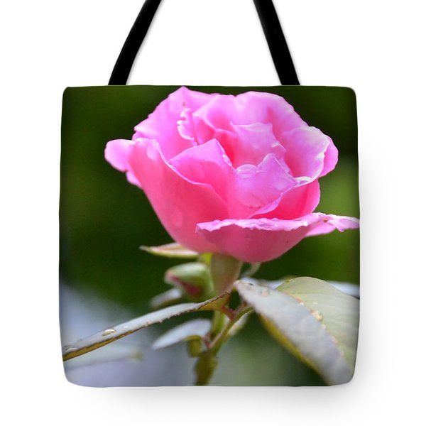 Bubblegum Rose Tote Bag