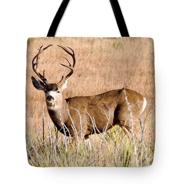 Buck Tote Bag by Cheryl McClure